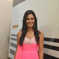 Bruna Abdalah was at the Promotion of 'Jai ho'