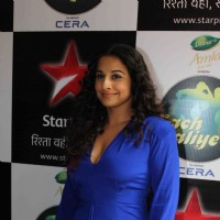 Vidya Balan at the Promotions of 'Shaadi Ke Side Effects' on Grand finale of Nach Baliye 6