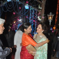 Shabana Azmi and Hema Malini share a warm hug
