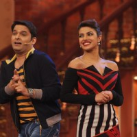 Kapil Sharma jokes with Priyanka Chopra on Comedy Nights with Kapil | Gunday Event Photo Gallery