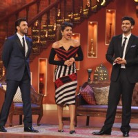 The cast of 'Gunday' have some fun time on Comedy Nights with Kapil | Gunday Event Photo Gallery