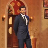 Ranveer Singh during the Promotion of 'Gunday' on Comedy Nights with Kapil | Gunday Event Photo Gallery