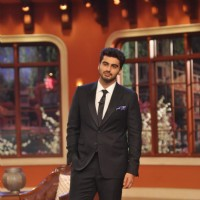 Arjun Kapoor Promotes 'Gunday' on Comedy Nights with Kapil | Gunday Event Photo Gallery