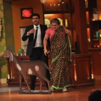 Arjun Kapoor and Ali Asgar on Comedy Nights with Kapil | Gunday Event Photo Gallery