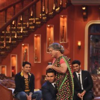 Ranveer Singh and Ali Asgar perform on Comedy Nights with Kapil | Gunday Event Photo Gallery