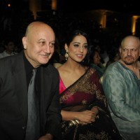 Anupam Kher and Mahie Gill at the Music Launch of Gang of Ghosts