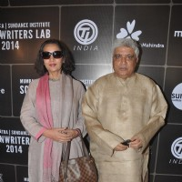 Shabana Azmi and Javed Akhtar at 3rd Annual Mumbai Mantra Sundance Institute Screenwriter's Lab