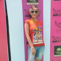 Aanchal Kumar at the +91 Holi Reloaded, A Dance Music Holi