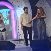 Jackky Bhagnani and Hard Kaur perform at the Lavasa Woman Drives Awards 2014