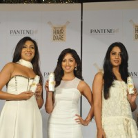 Rituporna Sengupta, Yami Gautam and Mahie Gill at the Launch of Pantene's New & Improved range