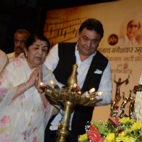Lata Mangeshkar inaugrates the 72nd Master Deenanath Mangeshkar Awards
