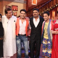 Promotion of Koelaachal at Comedy Nights With Kapil
