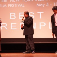 Aparna Sen and Nagesh Kukunoor at the 14th New York Indian Film Festival closing
