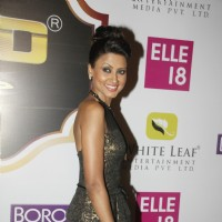 Nigaar Z. Khan at the Boroplus Zee Gold Awards 2014