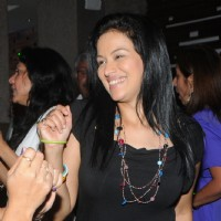 Jyoti Gauba enjoys the party