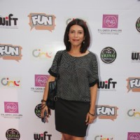 "Shilpa Shukla at the Premiere of the documentary film ""The World before Her"""