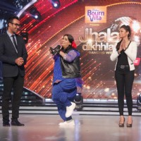 Palak in a gig at the Launch of Jhalak Dikhhla Jaa Season 7