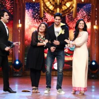 Farah and Mona welcome Sidharth on Entertainment Ke Liye Kuch Bhi Karega