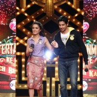 Sidharth Malhotra & Shraddha Kapoor promote Ek Villain on Entertainment Ke Liye Kuch Bhi Karega