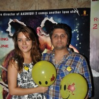 Udita Goswami and Mohit Suri at Ek Villain's Special Screening .