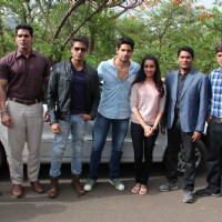 Promotion of Ek Villain on CID