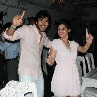 Shivin Narang dancing with Sneha Wagh at the party