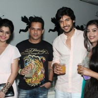 Yash Patnaik's with the cast of Veera