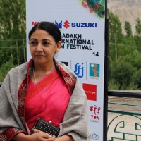 Deepti Naval at the Ladakh International Film Festival