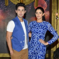 Armaan and Deeksha at the Promotions of Lekar Hum Deewana Dil