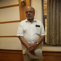 Shyam Benegal was at the Fund Raising Event