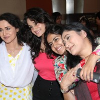 Avika Gor with her on screen family at the Birthday Party