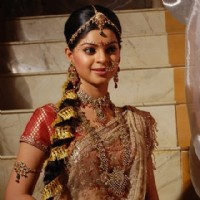 Sneha Wagh in her wedding dress in serial Jyoti