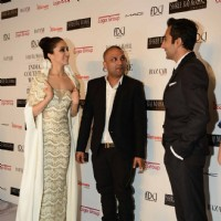 Shraddha Kapoor, Gaurav Gupta and Rahul Khanna chat at the Indian Couture Week - Day 4