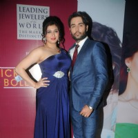 Vahbbiz Dorabjee Dsena and Vivian Dsena at the Ticket to Bollywood Event