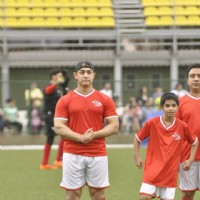 Aamir Khan at Charity Football Match