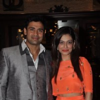 Sangram Singh and Payal Rohatgi at Birthday Bash