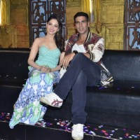 Akshay Kumar and Tammanah for the Promotions of Entertainment