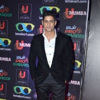 Mohit Raina was at Pro Kabbadi League