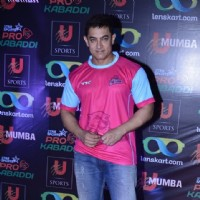 Aamir Khan at Pro Kabbadi League