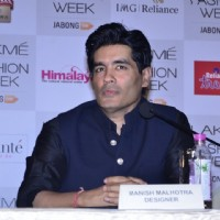 Manish  Malhotra was at the Announcement of Lakme Fashion Week Summer Resort 2014