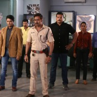 Promotion of Singham Returns on C.I.D