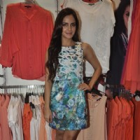 Shazahn Padamsee was snapped at the Launch of Madame's Studio Collection