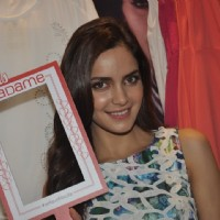 Shazahn Padamsee poses beautifully at the Launch of Madame's Studio Collection