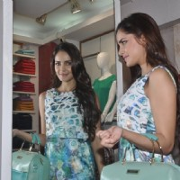 Shazahn Padamsee was seen checking out herself in the mirror
