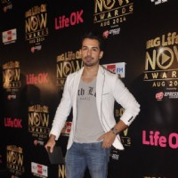 Abhinav Shukla at the Life Ok Now Awards