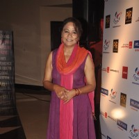 Seema Biswas was at the Premiere of 100 Foot Journey hosted by Om Puri
