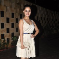 Rashmi Desai poses for the media at Melissa Pais Birthday Bash