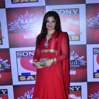 Deepshikha Nagpal at the SAB Ke Anokhe Awards