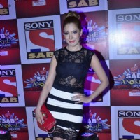 Moonmoon Dutta at SAB Ke Anokhe Awards