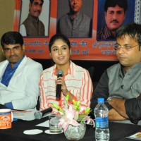 Kritika Kamra addresses the media as she Supports Save Girl Child Cause
